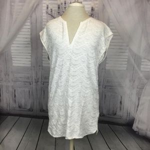 Madewell Swim - Madewell White Cover-up Cannes Tunic M